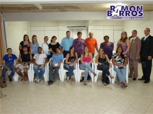 Lançamento da Campanha de Vendas 2009 e abertura da agenda de Treinamentos Multpel 2009: um cliente especial e um clima super agradável: parabéns a todos!