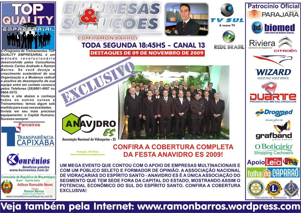 EVENTO ANAVIDRO ES 2009